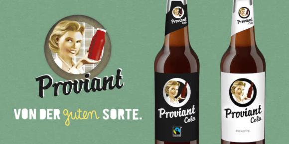 Proviant Cola mit neuen Sorten