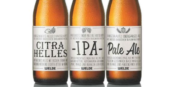 Welde Brauerei mit neuen Craftbieren