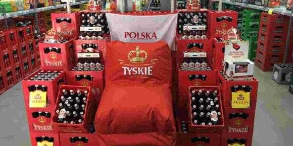 Tyskie Bier aus Polen verlost Sitzsäcke