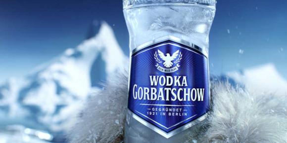Wodka Gorbatschow mit neuer Werbung
