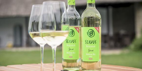 Servus zu weniger Alkohol