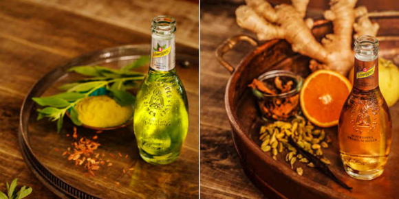 Schweppes Premium Mixer Matcha und Barrel Ginger Ale