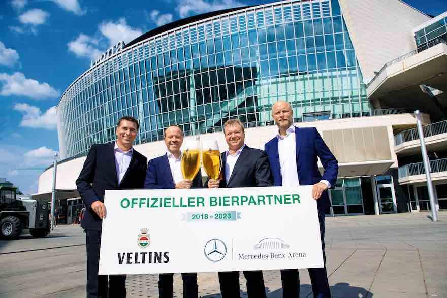Rechte in Berliner Benz-Arena gesichert