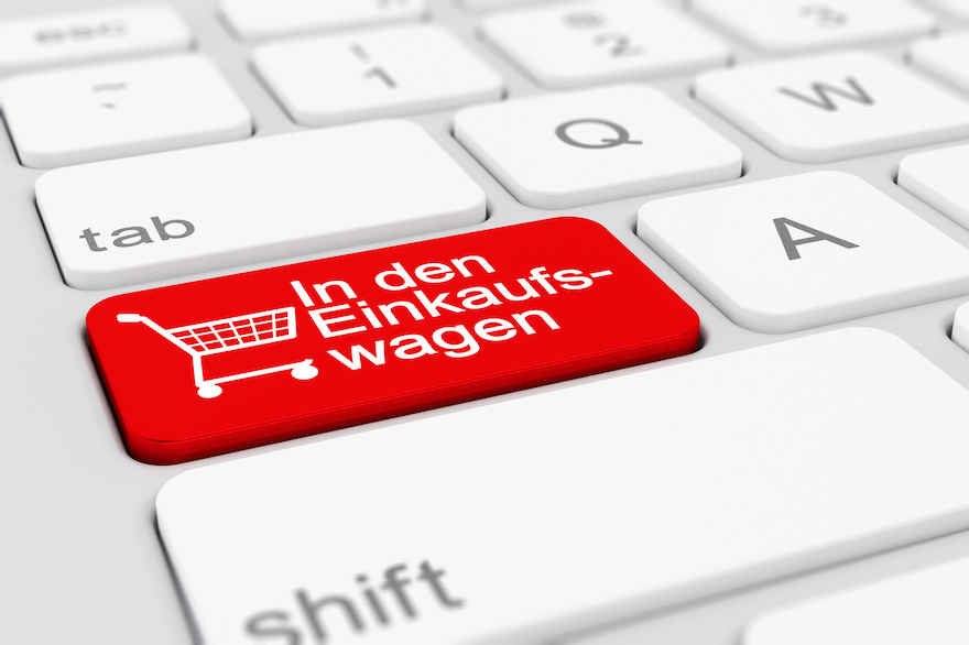 Onlinehandel für Lebensmittel