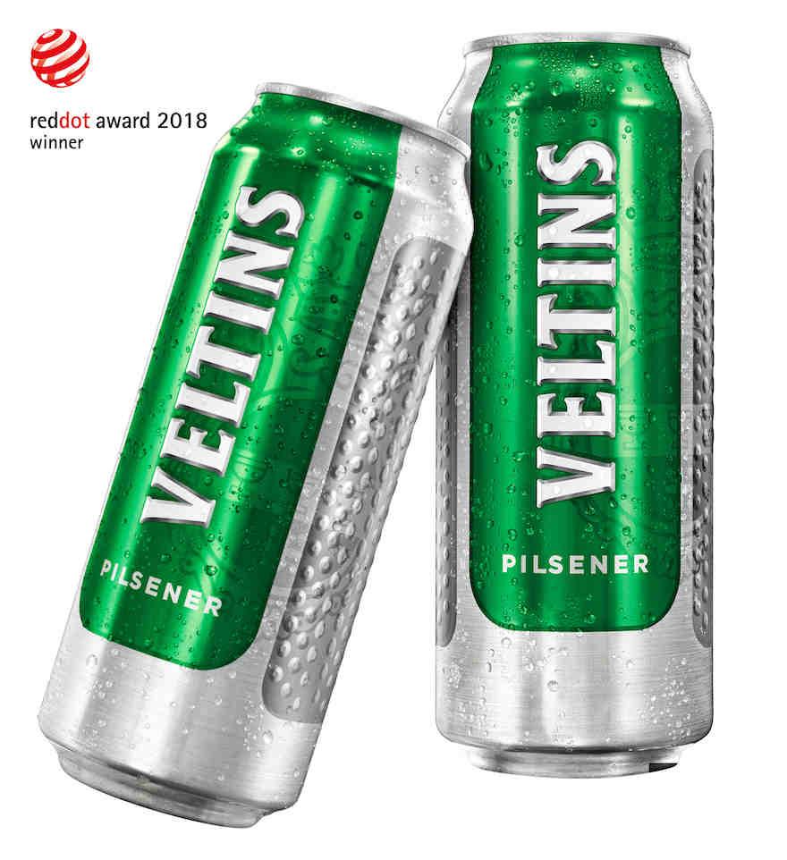 Red Dot Award für Halbliterdose von der Brauerei Veltins