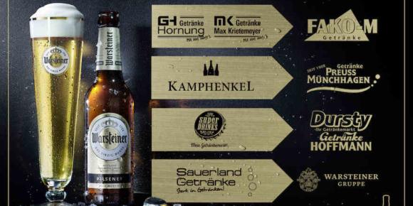 Warsteiner Gruppe trennt sich von Getränkefachhändlern