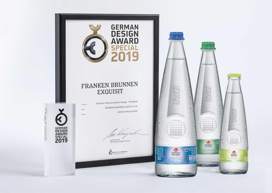 Designpreis für Gastroflasche