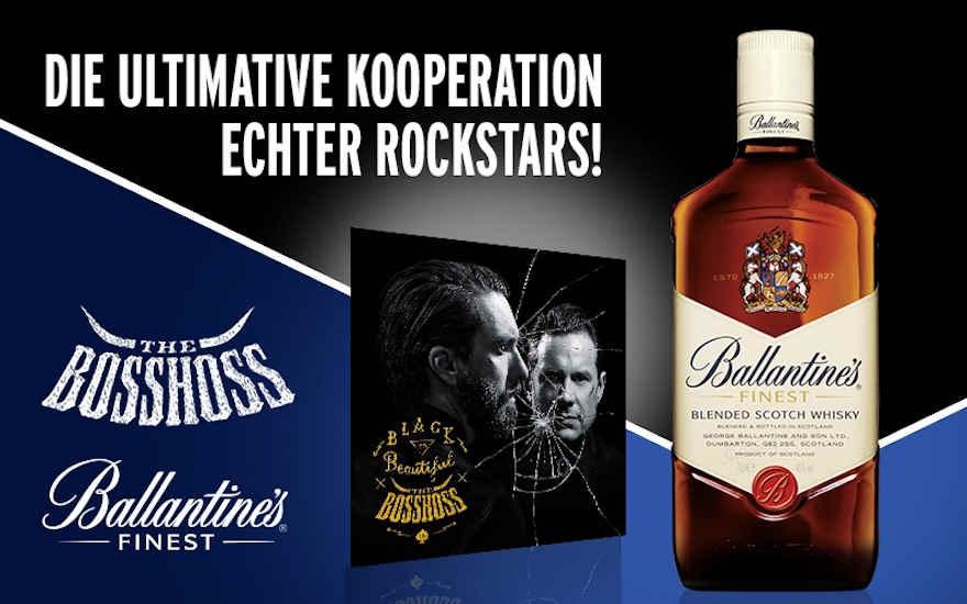 Ballantine's rockt die Whiskywelt