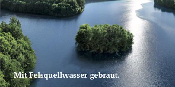 """Felsquellwasser"" muss nicht gelöscht werden"