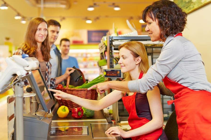 Immer mehr Beschäftigte im Einzelhandel