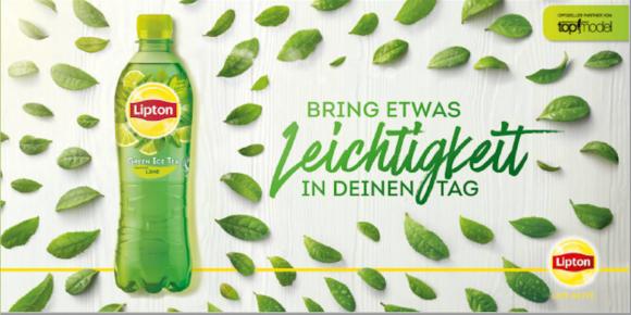 Mehr Werbepower für Green Tea 1