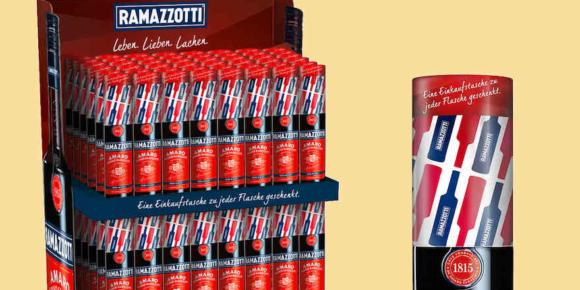 Shoppen mit Ramazzotti
