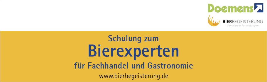 Werbeanzeige Bierbegeisterung.de/Schulungen