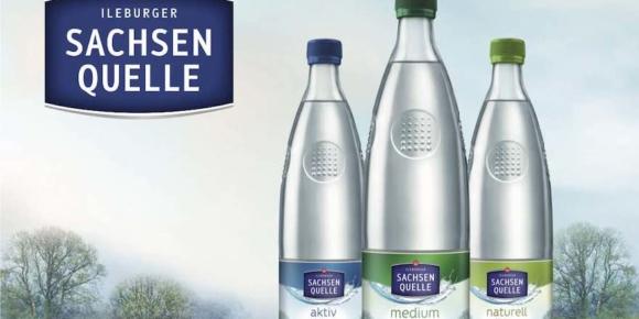 Neue Individual-Glasflasche