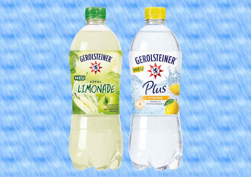Zwei neue Erfrischungsgetränke