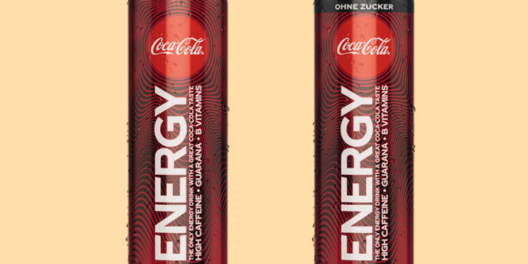 Coke erstmals mit Energydrink
