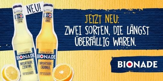 Werbeanzeige Bionade