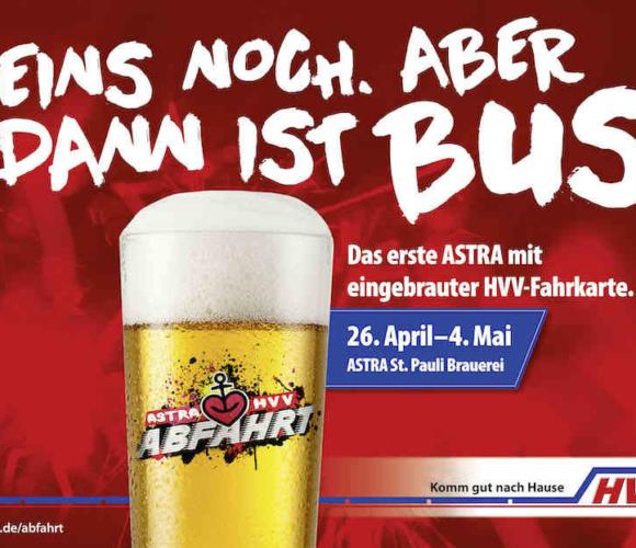Fahrkarte zum Bier