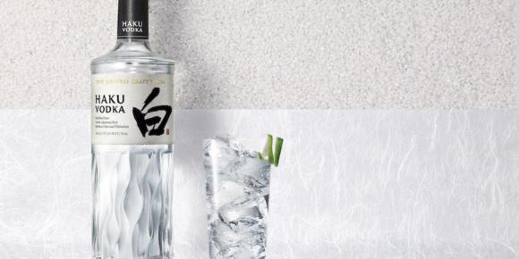Japanischer Wodka kommt