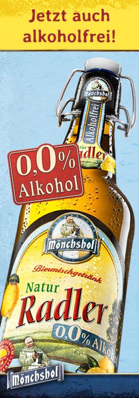 Kulmbacher Mönchshof Radler alkoholfrei