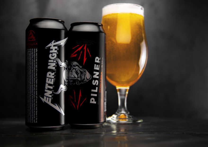 Mit Metallica Bier gebraut