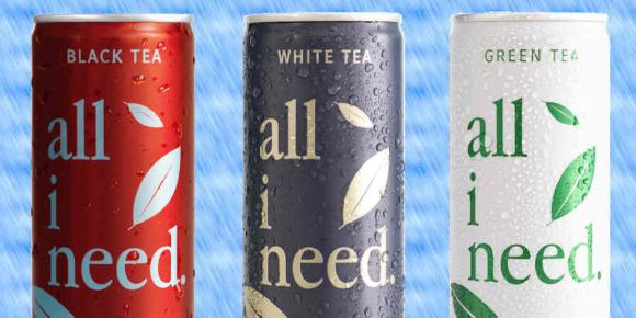Sortiment um Teegetränke erweitert