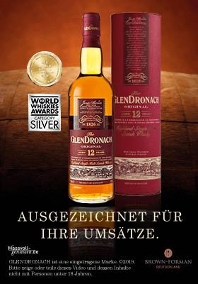 Werbeanzeige The Glendronach