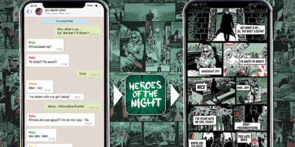 Chatverlauf als Comic