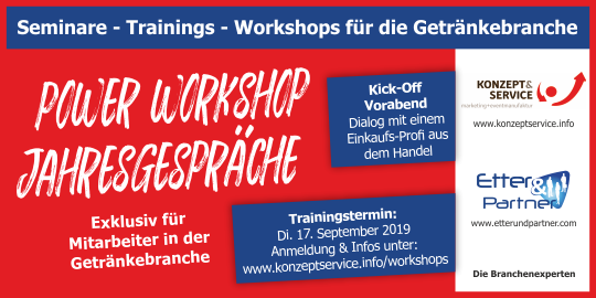 Werbeanzeige Klenk/Etter Workshops