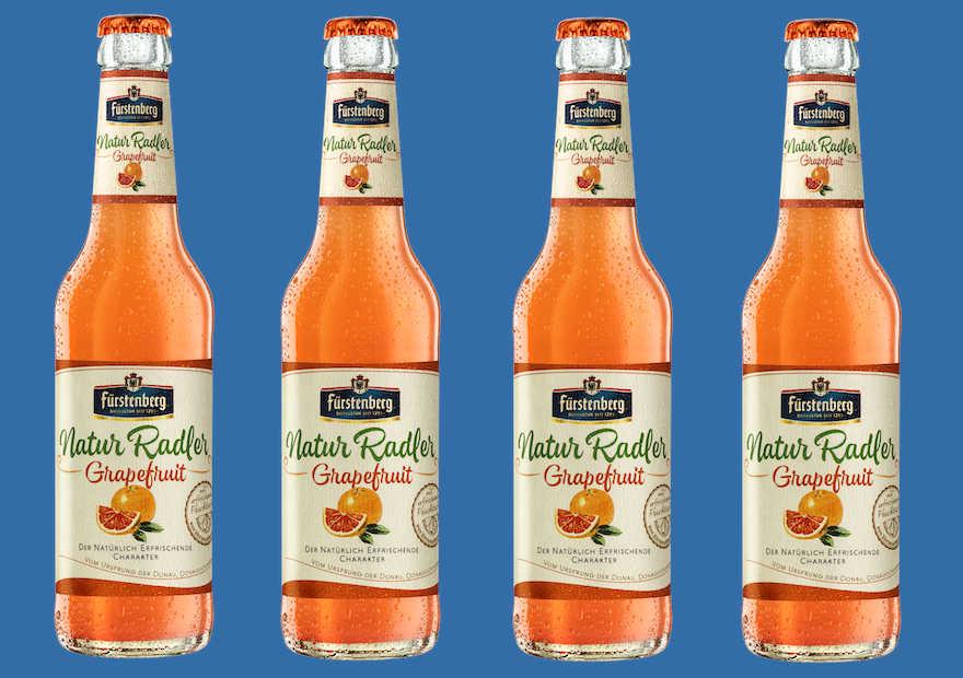 Natur Radler Grapefruit hat Premiere
