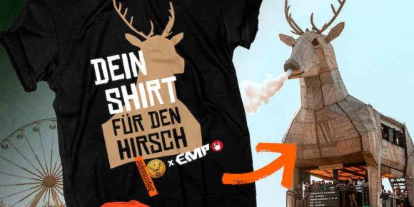 Shirt für den Hirsch