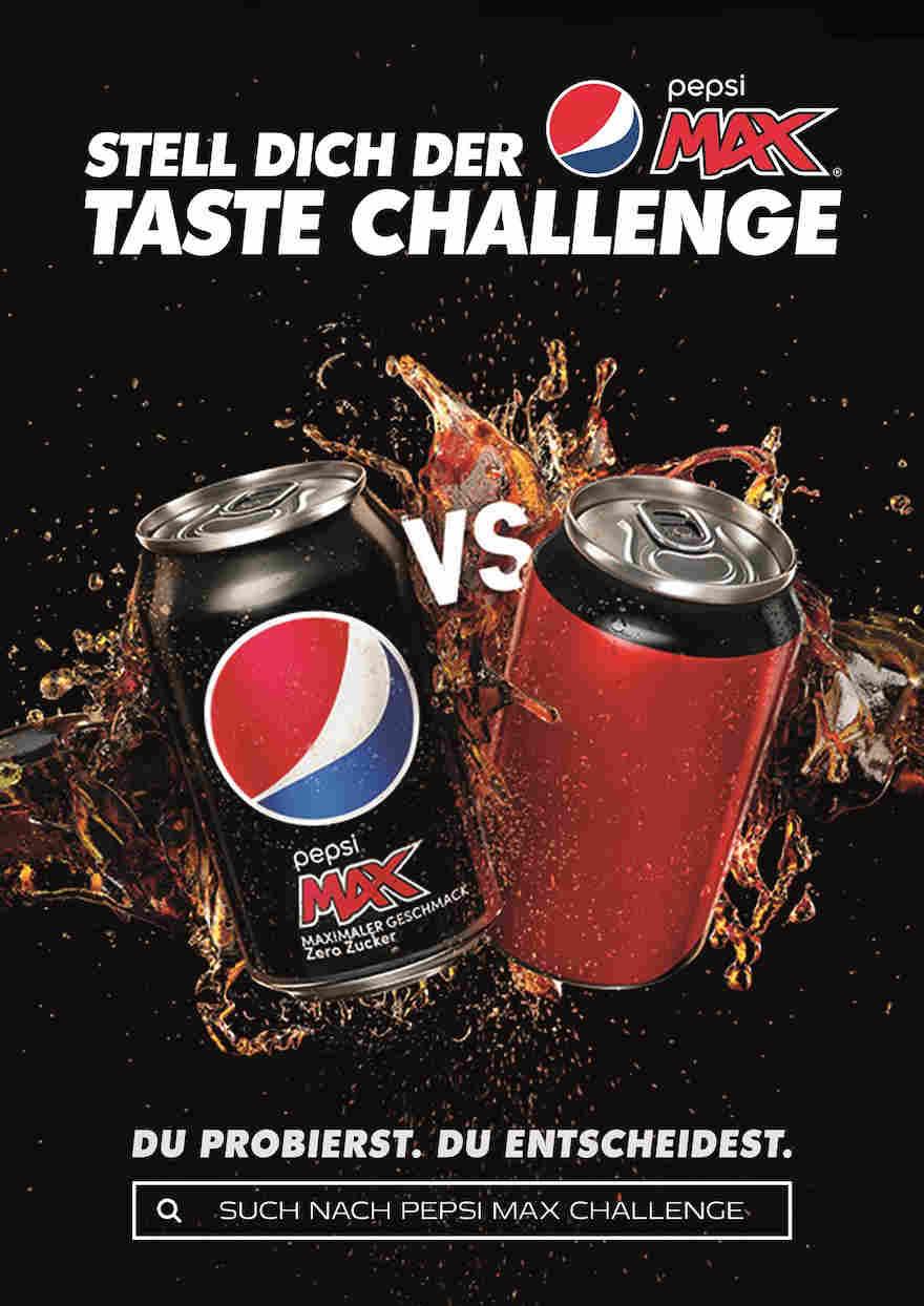 Pepsi will's wissen