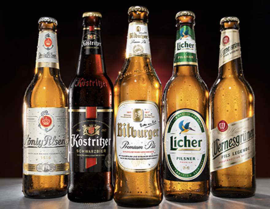 Marken der Bitburger Braugruppe