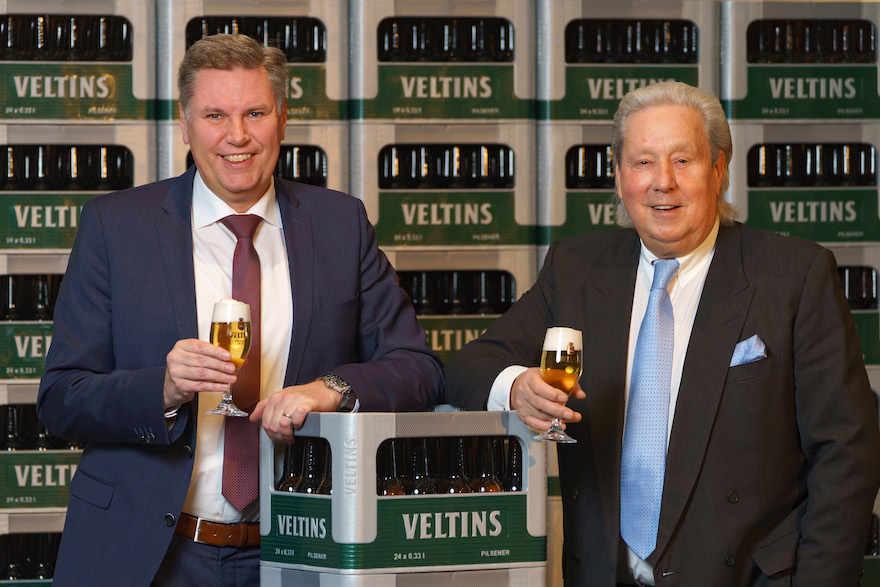 Brauerei Veltins mit 1. Halbjahr zufrieden