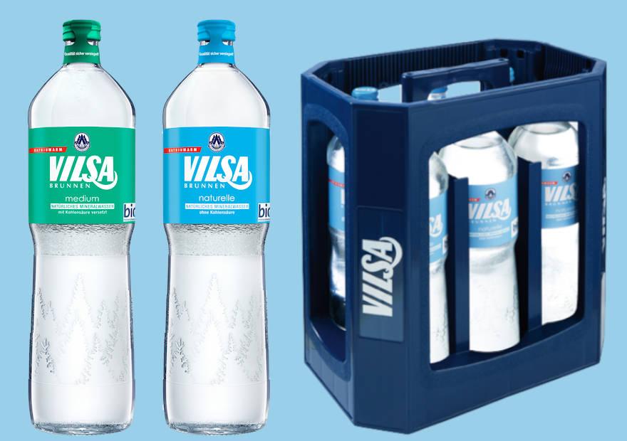 Vilsa führt Individualflasche ein