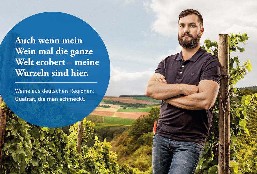 """Werbung mit """"echten"""" Winzern"""