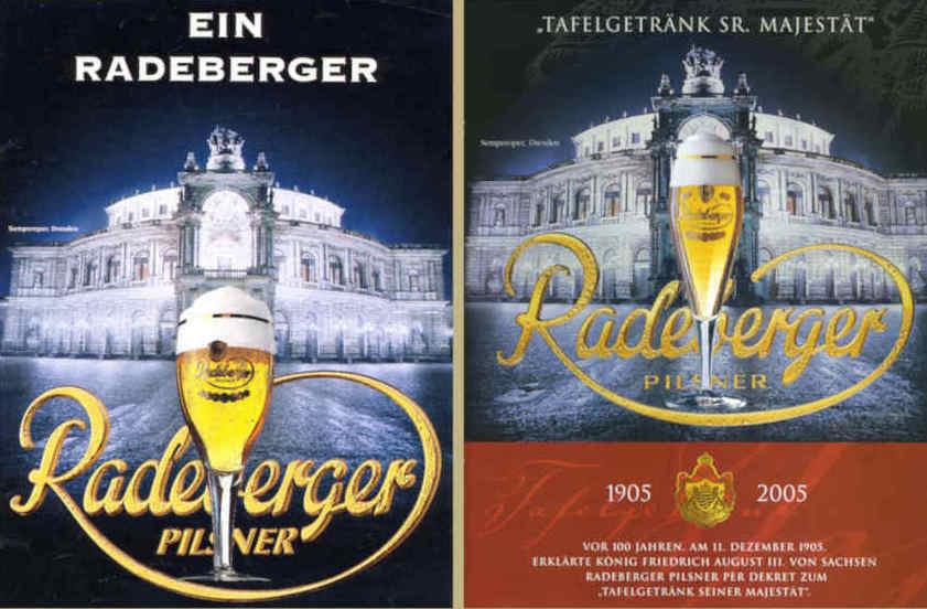 Radeberger Werbung
