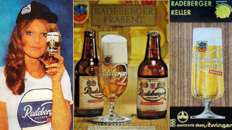 Radeberger Werbung DDR