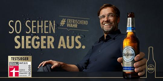 Werbeanzeige Warsteiner Motiv Alkoholfrei