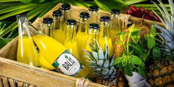 Neu mit Ananas und Minze