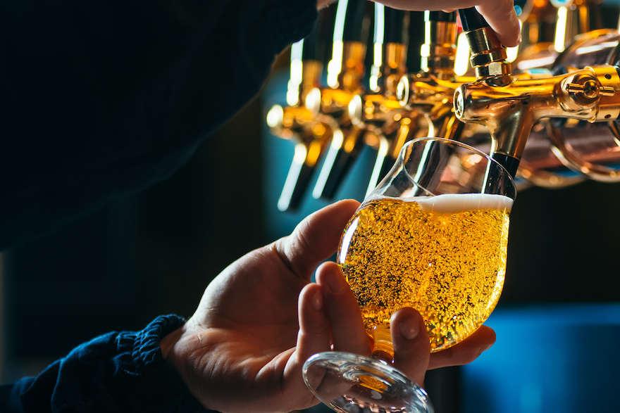 Bierabsatz leicht rückläufig