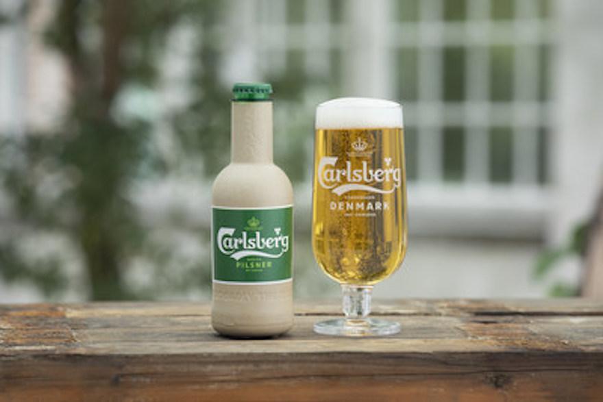 Carlsberg entwickelt Papier-Bierflasche