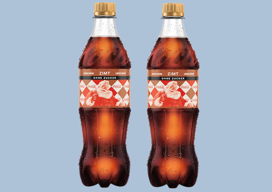 """Coca-Cola präsentiert Variante """"Zimt"""""""