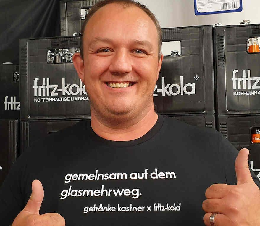 Kastner und Fritz-Kola gegen Plastik