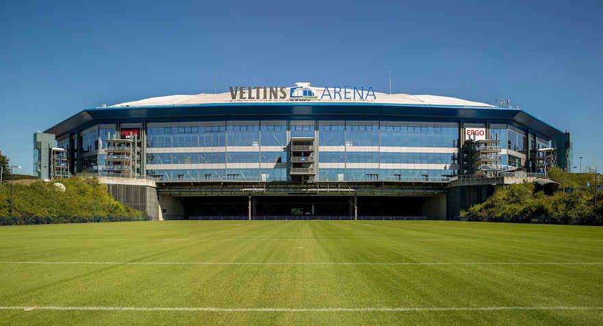 Veltins Arena in Gelsenkirchen