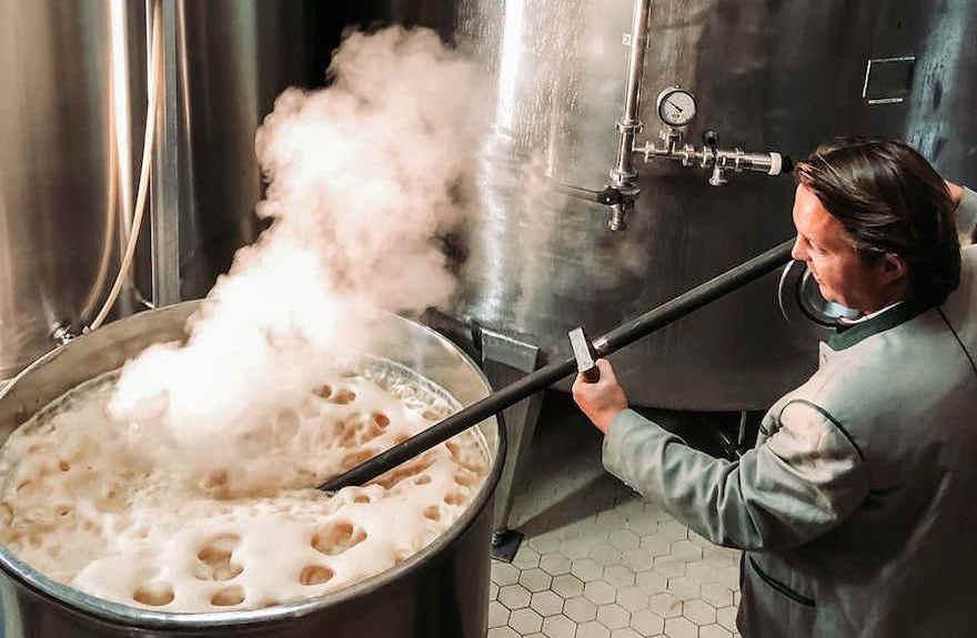 Brauerei Schweiger Doppelbock stacheln