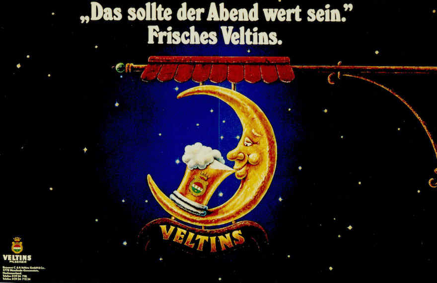 Veltins Werbung 1985