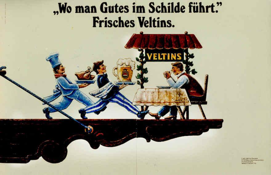 Veltins Werbung 1980