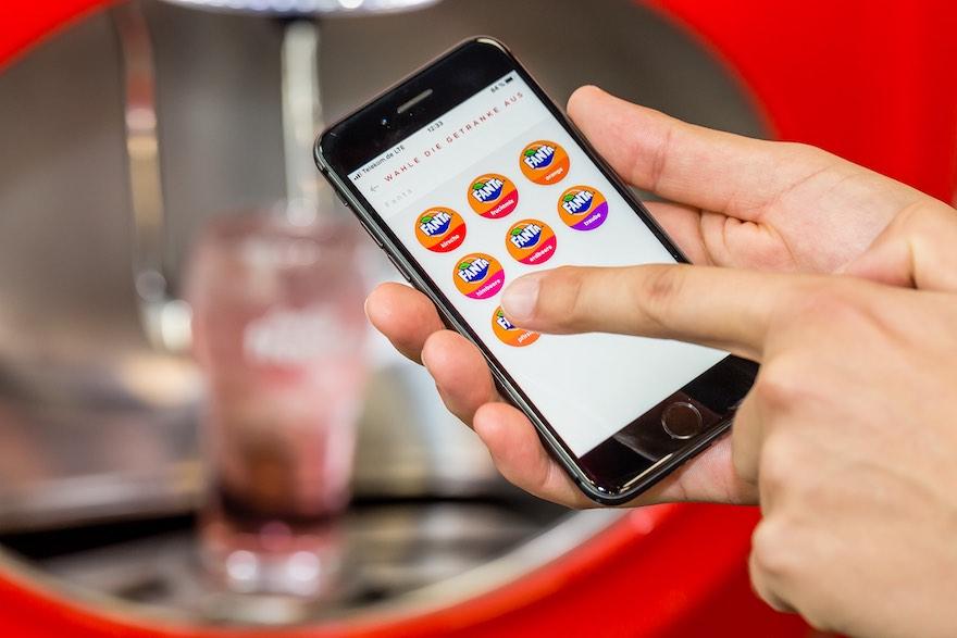 Mixen auf dem Smartphone
