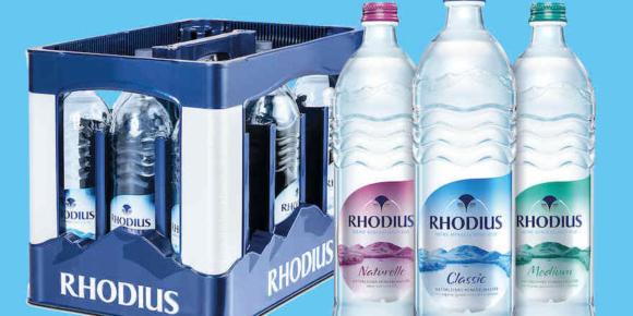 Rhodius bringt Glas-Individual-Flasche